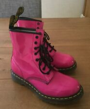 New Doctor Martens Pink Patent Boots UK 6 / 39 - Unworn