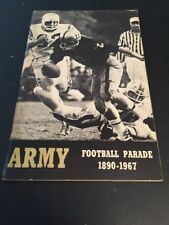 1967 NCAA Football Army Yearbook Media Guide