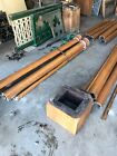 4 Available Price Separate Antique Oak 4 Column Pillar92 inch