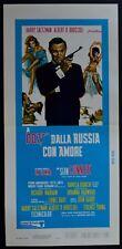locandina DALLA RUSSIA CON AMORE FROM RUSSIA WITCH LOVE JAMES BOND 007  CONNERY