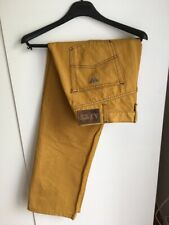 AJ ARMANI JEANS men's GOLD JEANS REGULAR STRAIGHT SIZE 38 / EU 54 made in Italy