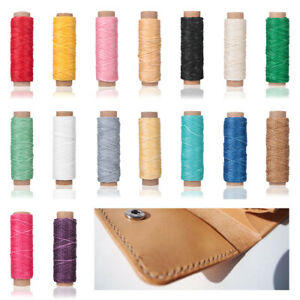 150D Hand Stitching Handicraft DIY Waxed Thread Cord Sewing Line Leather