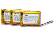 3x BATERIA para iDect MT LP053040 CP75 CP-75