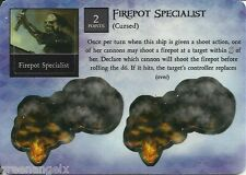 PIRATES AT OCEAN'S EDGE - 021 CURSED FIREPOT SPECIALIST