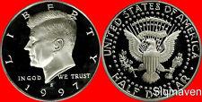 1997 S Clad Kennedy Half Dollar Deep Cameo Gem Proof