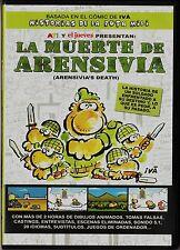 dvd: LA MUERTE DE ARENSIVIA Basada en el cómic de IVÀ, Historias de la puta mili