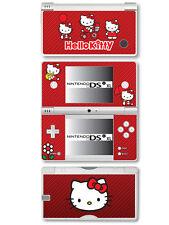Hello Kitty Vinyl Skin Sticker for Nintendo DSi XL - Red