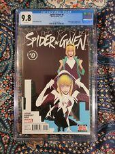 Spider Gwen #0 9.8 CGC Note: Minor Scuffs on Case