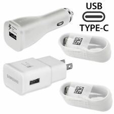 For Sony Phones OEM Adaptive Fast Car+Home Adapter & 2 Type_C Cables