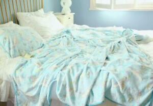 Cinnamoroll dog fleece Blankets Throws quilt fuzzy blanket 150x200cm new