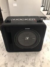KICKER 43VCWR122 12 inch Subwoofer w/ 1200w amp