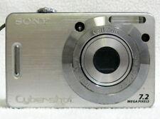 Sony Cyber-shot DSC-W55 7.2MP Digital Compact Camera Silver  FAIR - TESTED