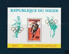 Niger  bloc jeux olympiques de  Séoul   1987  num:  51  **