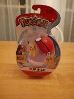 Pokemon Clip N Go Pikachu + Poke Ball Figure WCT 2020 Nintendo 98025