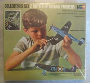 1967 Revell Collector's Set 1/32 Scale Model WWII Battle of Britain Fighter New