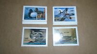 4 Ohio State Duck Stamps Wetland 1991  1997-99 OG NH FREE  SHIPPING