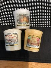 Yankee Candle Votive X 3 New