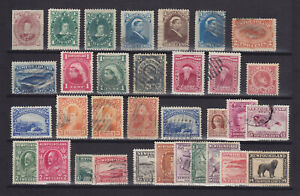 NEWFOUNDLAND CANADA 1876-1932, 33 STAMPS INCL. SG 40 (MNG)