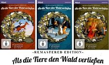Als die Tiere den Wald verließen - Staffel 1+2+3 - Rem. Ed. 3 x 2 DVD NEU + OVP!