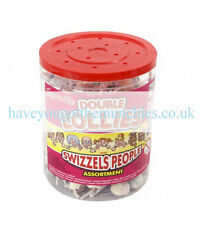 * Swizzles Matlow Double Lollies Tub 120 Classic Wholesale Retro Sweets