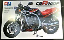 Tamiya - HONDA CBR 400F Motorcycle Model Kit - scale 1/12  - NEW Factory Sealed