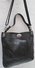 -AUTHENTIQUE sac à main  en cuir  FOSSIL  TBEG vintage bag