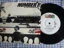 "ACCELERATORS ""Number 1 / Bitumen Mix"" Rare South Australia 7""45rpm Vinyl Record"