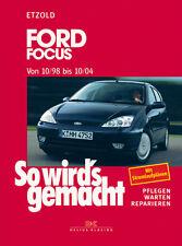 Reparaturanleitung Ford Focus 1998 - 2004 So wirds gemacht 117 Wartungshandbuch