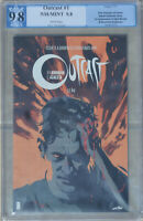 OUTCAST Robert Kirkman #1 PGX 9.8 NMMT Like CGC 2014 White Pages 1st Kyle Barnes