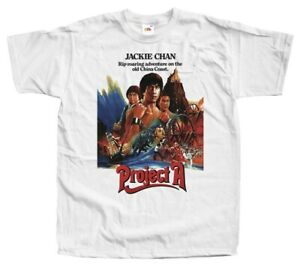 Project A V1 Pirate Patrol Jackie Chan movie 1983  DTG T Shirt All sizes S-5XL