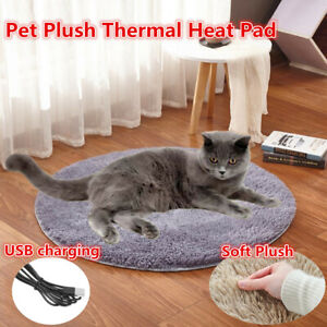 Pet Heating Warmer Blanket Bed Pad Puppy Dog Cat Electric Heater Mat Soft