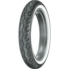 Dunlop D401 V-Twin Street Front Motorcycle WWW Wide Whitewall Tire 100/90-19 57H