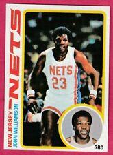 1978-79 Topps Basketball # 11 John Williamson New Jersey Nets