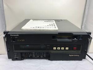 Panasonic AJ-D650 Video Tape Cassette Recorder Player