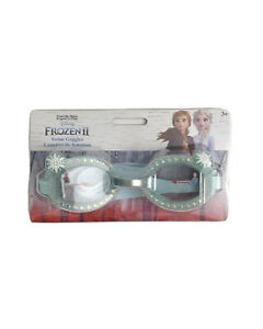 Swimming Goggles for Kids - Disney Frozen 2 Anna and Elsa with Snowflakes Design