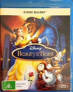 Beauty and the Beast (Disney Blu-ray 2-Disc edition) - FREE POSTAGE