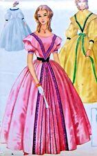 * 2403 Misses Southern Belle Centennial Ball Gown Costume Pattern sz 10-12 UNCUT