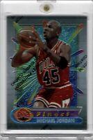 1994 Topps Finest #331 Micheal Jordan Gem Mint W/Coating JERSEY #45 Nike Air