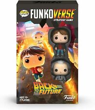 Funko Pop! Funkoverse: Back to The Future 2 Pack Figures - 100 Board Game