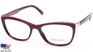 NEW VERSACE MOD 3255 5263 MARC EYEGLASSES GLASSES FRAME 52-17-140 B37mm Italy