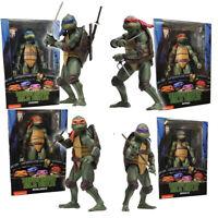 """NECA Teenage Mutant Ninja Turtles TMNT 7"""" Action Figure 1990 Movie Collection ##"""