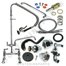 More details for aquajet ajpr30-bf2 pre-rinse twin feed spray arm spare parts choose from list