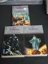 The Lord Of The Rings Trilogy by J.R.R. Tolkien 1991 French Pocket Edition