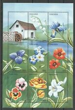 PK272 TANZANIA FLORA NATURE PLANTS FLOWERS 1KB MNH STAMPS