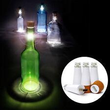 Cork Shaped LED Bottle White Light USB Rechargeable Bedroom Table Lamp