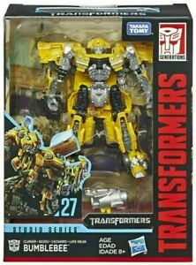 Transformers Studio Series 27 Clunker Bumblebee Deluxe Collection Action Figure