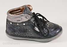 Noel Girls Mini Arga Black Patent Leather Shoes UK 5.5 EU 22 US 6 RRP £47