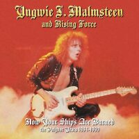 YNGWIE MALMSTEEN - NOW YOUR SHIPS ARE BURNED (4 CD) 4 CD NEU