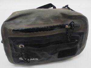 Simms Waist Belt Hip Pack Fishing Waist Pack Dark Green Adjustable Strap