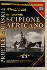 Italian Light Cruiser Scipione Africano Profile Morskie 43 Reference Book